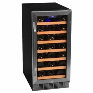 EdgeStar TWR215ESS1 Built-In 30 Bottle Wine Cooler