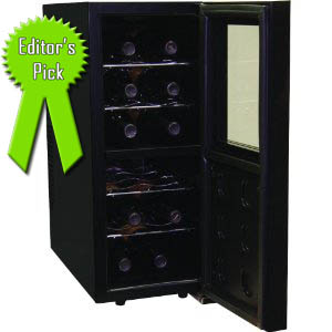 Haier HVTM12DABB 12-Bottle Dual Zone Wine Cellar Review