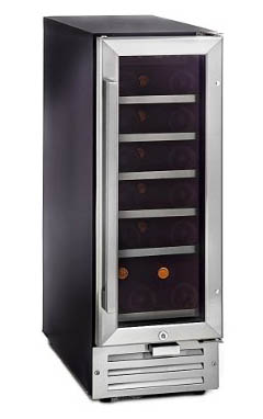Best Mid Sized Wine Coolers - Whynter BWR-18SD 18 Bottle Built-In Wine Refrigerator