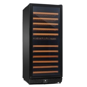 Kingsbottle 120 Bottles Compressor Wine Cellar with Two Temperature Zones