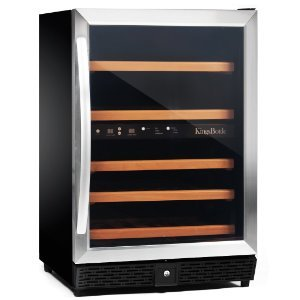 KingsBottle KBU-50-SS / KBU-50-BP Wine Cooler Review
