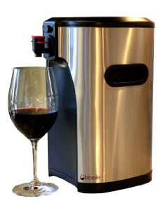 The Boxxle 3L Box Wine Dispenser: attractive and practical