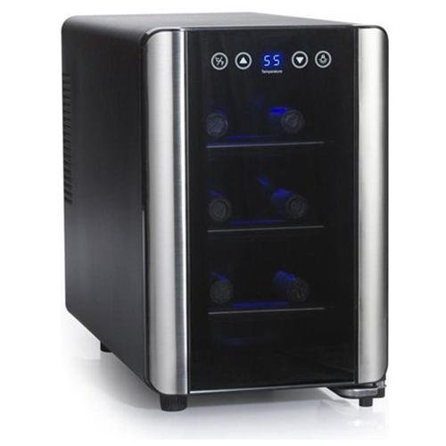wine enthusiast 6 bottle silent wine cooler
