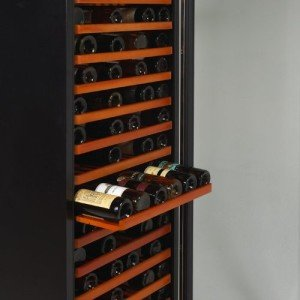 Avanti WCR682SS2 166 Bottle Wine Cooler - premium wood roll out shelving.