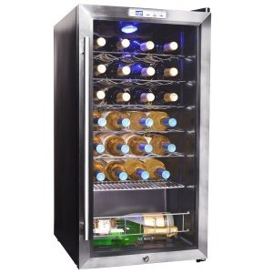 The NewAir 27 Bottle Compressor Wine Cooler - performance, good looks & unbeatable value.